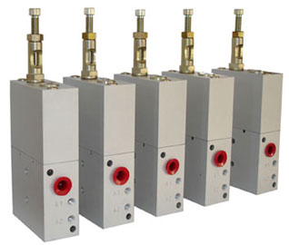 Oil and Grease dispensers ACV series