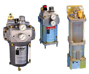 Taco air line lubricators series TLB, TLC and TLD